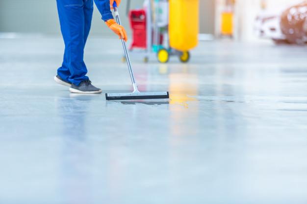 انواع ماشین های نظافت صنعتی مناسب کف